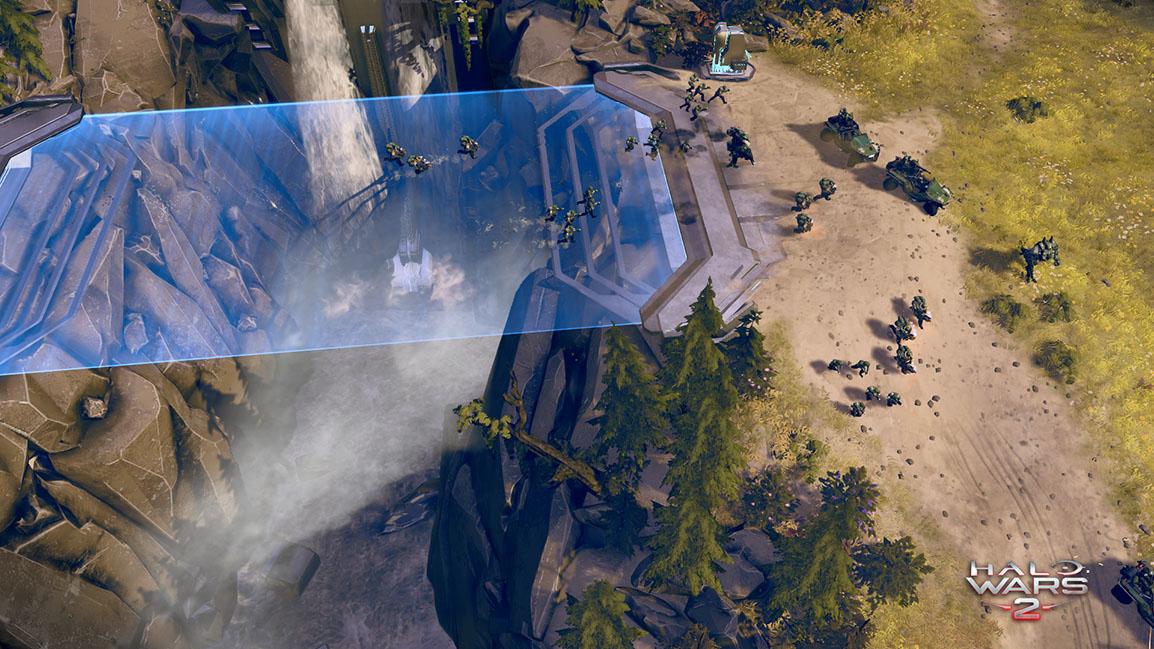 combat spanning huge environments