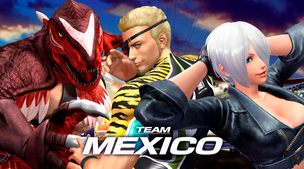 king of fighters mexico
